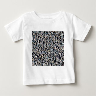 texture grise de gravier t-shirt pour bébé