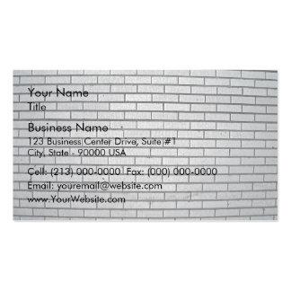 Texture grise de mur de briques modèles de cartes de visite