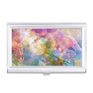 Texture grunge abstraite avec la peinture 3 boîtiers pour cartes de visite