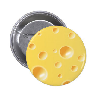Texture jaune de fromage suisse pin's
