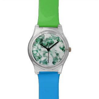 Texture marbrée de quartz montres