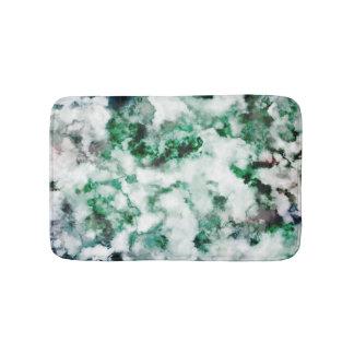 Texture marbrée de quartz tapis de bain