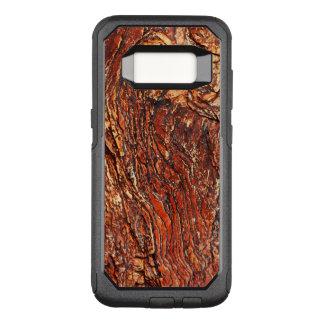 Texture rouge de roche coque samsung galaxy s8 par OtterBox commuter
