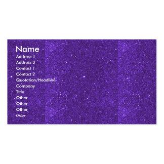 Texture unique pourpre sainte de nuances de NOVINO Carte De Visite Standard