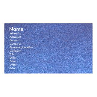 Texture unique simili cuir de nuances de NOVINO Carte De Visite Standard