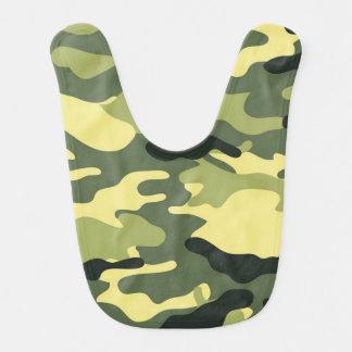 Texture verte de Camo de camouflage Bavoirs