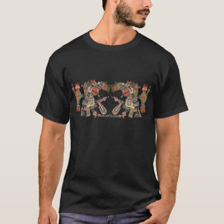 Tezcatlipoca - miroirs de tabagisme t-shirt