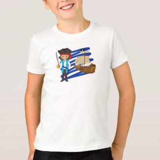 Thaddeus et sien bateau - T-shirt de garçons