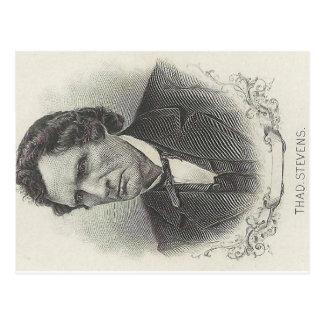 Thaddeus Stevens Carte Postale