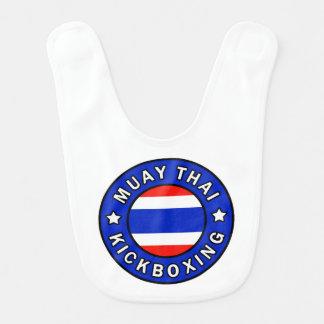 Thaïlandais de Muay Bavoir