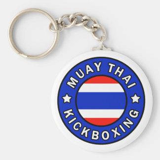 Thaïlandais de Muay Porte-clés