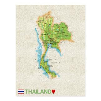 ♥ Thaïlande de CARTES POSTALES de CARTE