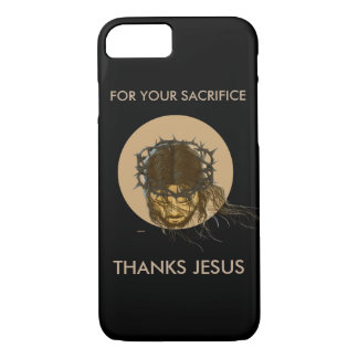 THANKS JÉSUS CELL COQUE iPhone 7