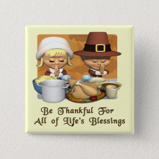 Thanksgiving : Les bénédictions de la vie Badge