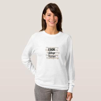 Thanksgiving pour faire la liste t-shirt