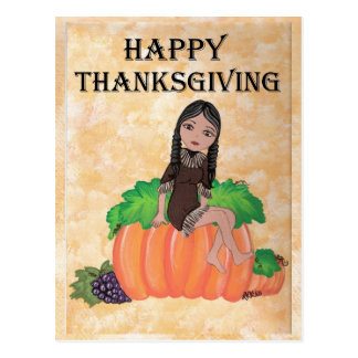 "Thanksgiving Quantum Cutie de ""Cheyenne"" Carte Postale"