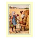 Thanksgiving vintage cartes postales