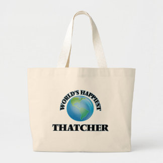 Thatcher la plus heureuse du monde sac en toile jumbo