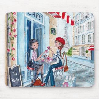 Thé à Paris - tapis de souris