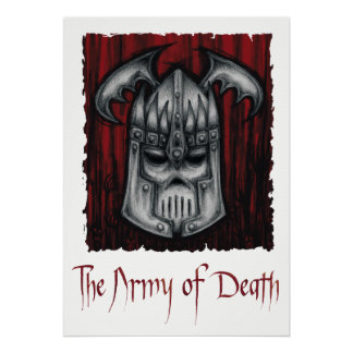 The Army of Death Posters