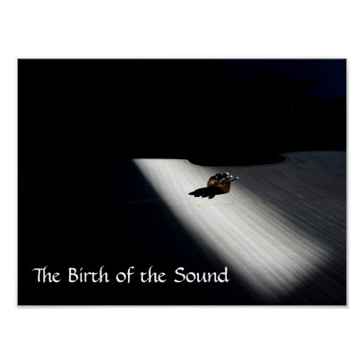 The Birth of the Sound Poster