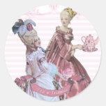 Thé de Marie Antoinette aux joints de Trianon Adhésifs Ronds
