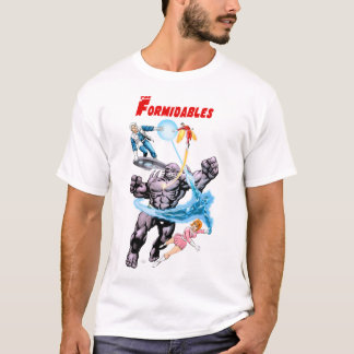The Formidables Team par Jean-Yves Mitton T-shirt