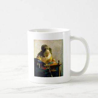 The Lacemaker, Jan Johannes Vermeer Mug