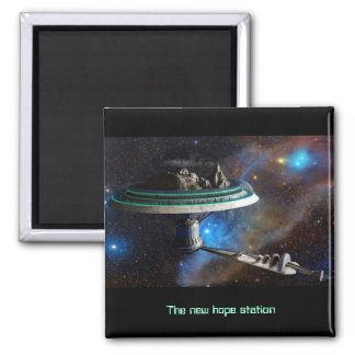 The new hope station magnet carré
