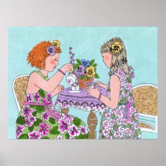 Thé pour deux posters