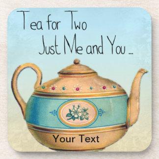 Thé pour les dessous de verre deux