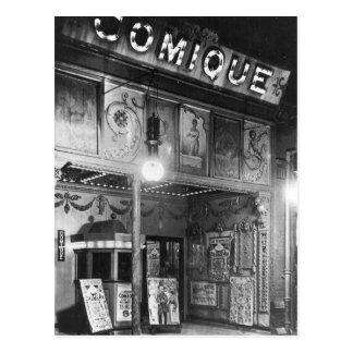Théâtre de Comique Carte Postale