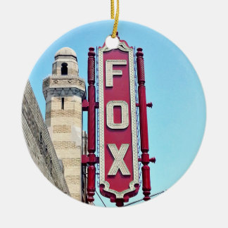 Théâtre de Fox, Atlanta, la Géorgie, ornements de