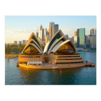 Théatre de l'opéra Australie de la carte postale |