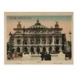 Théatre de l'opéra de L'Paris de souvenir de Paris Carte Postale