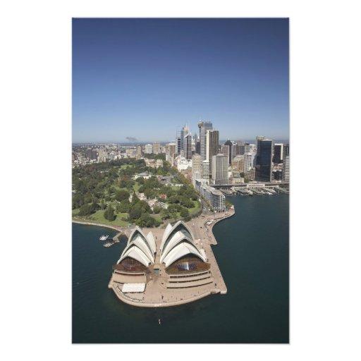 Théatre de l'opéra de Sydney, jardins botaniques r Photo