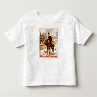 Théâtre d'homme et d'âne de cabine d'oncle Tom T-shirt