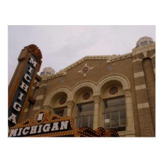 Théâtre du Michigan, Ann Arbor Cartes Postales
