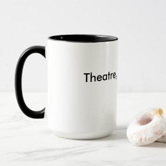 Théâtre, pas tasse de café de drame