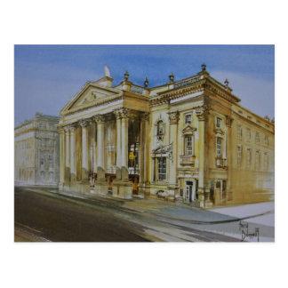 Théâtre royal, Newcastle sur la carte postale de
