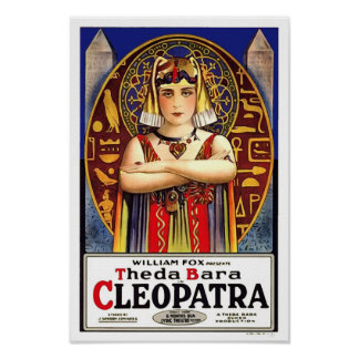 Theda Bara en tant que film de cru de Cléopâtre Posters