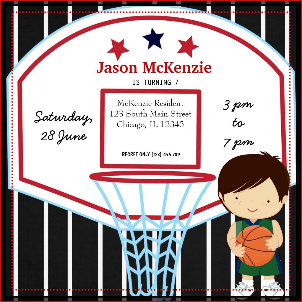 Préférence Carte D'anniversaire Basket   coleteremelly site HS23