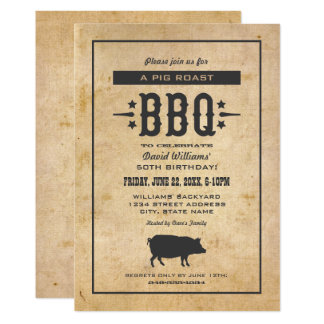 Thème de BBQ de jardin des invitations | de fête