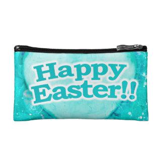 Thème heureux de Pâques Trousses De Toilette