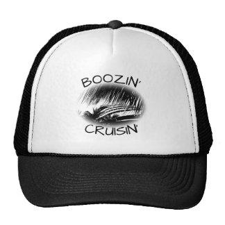 Thème nautique drôle de bateau des boissons casquette