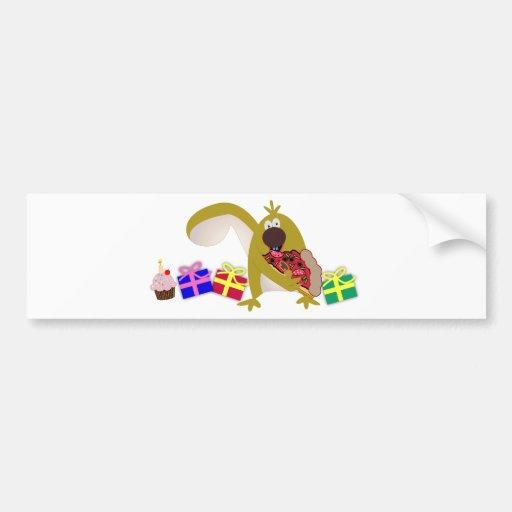Thèmes d'anniversaire de enfant : Écureuil 041 Autocollants Pour Voiture