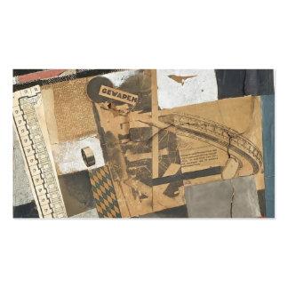 Theo Doesburg- le matériel denaturalized Modèle De Carte De Visite