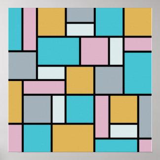 Theo van Doesburg - composition 17 - art de Posters