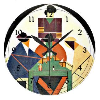 Theo van Doesburg - les joueurs de cartes, 1916, Grande Horloge Ronde
