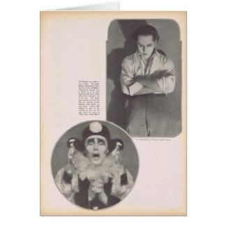 Theodore Kosloff 1922 portraits vintages Carte De Vœux